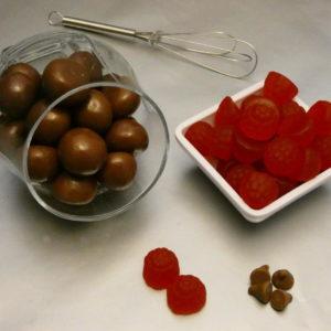 Milk Chocolate Raspberries