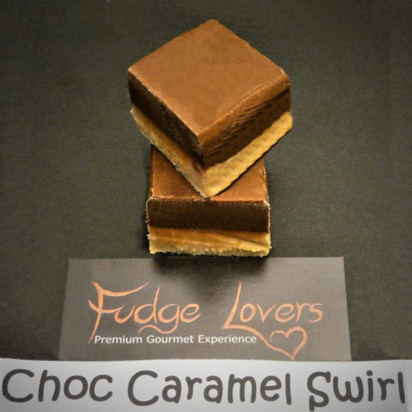 Choc Caramel Fudge Lovers