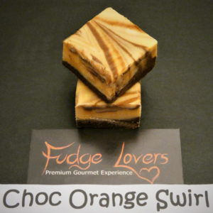 Choc Orange Swirl Fudge Lovers